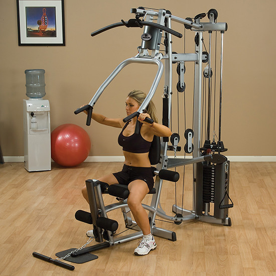 Simple mass building exercises for home gym users