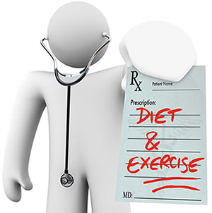 Diet and exercises