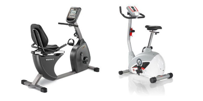 Recumbent vs Upright exercise bikes