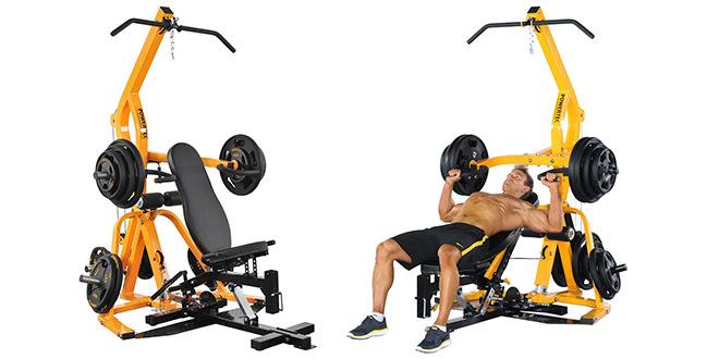Powertec Fitness Workbench Levergym
