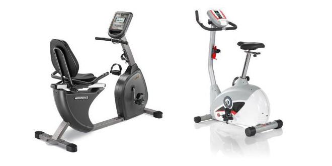 Recumbent vs Upright exercise bikes